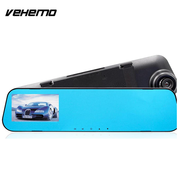 Vehemo 5MP 3.9 Inch Car Recorder Car Windshield Video Recorder Dash Board Camera Dvr Smart Vehicle Night Vision - efair Best spare parts online shopping website