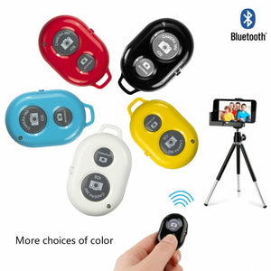 Wireless Bluetooth Selfie Stick Remote Controller Shutter Release Button for Phone Self-timer for Huawei Xiaomi iPhone Samsung - efair Best spare parts online shopping website