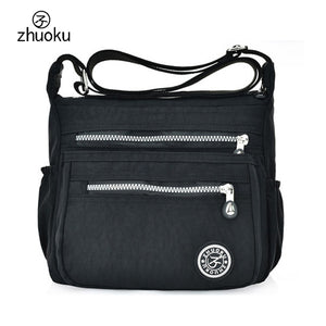 Women Messenger Bags Nylon Canta Shoulder Bags Handbags Famous Brands Designer Crossbody Bags Female Bolsa sac a Main ZK735 - efair Best spare parts online shopping website