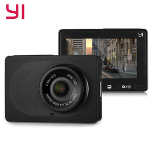 YI Compact Dash Cam WiFi 30fps 1080p Full HD Car DVR Dashboard Camera 2.7'' LCD Screen 130 WDR Lens G-Sensor Night Vision Black - efair Best spare parts online shopping website