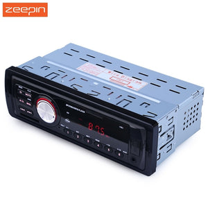 Zeepin Amplificador Audio 1 Din Car Auto Radio Audio Stereo In-Dash Support FM SD AUX USB 4-channel for Vehicle FM Stereo Radio - efair Best spare parts online shopping website