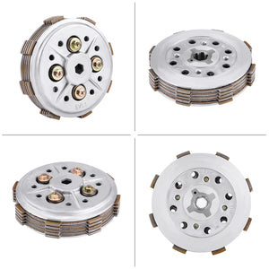 brand new Diameter12cm Motorcycle Metal Clutch Disc Pressure Plate Assembly Stable characteristics fit for Yamaha YBR125 YBR 125 - efair Best spare parts online shopping website