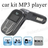 hot sale wireless FM transmitter modulator remote control for TF card U disk car kit MP3 player USB charger for mobile phones - efair.co
