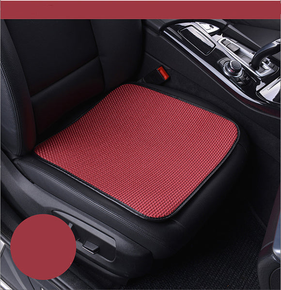 rete Car front Seat Covers artifical ice silk design Universal Fit SUV sedans Chair Pad Cushion antiskid breathable - efair Best spare parts online shopping website