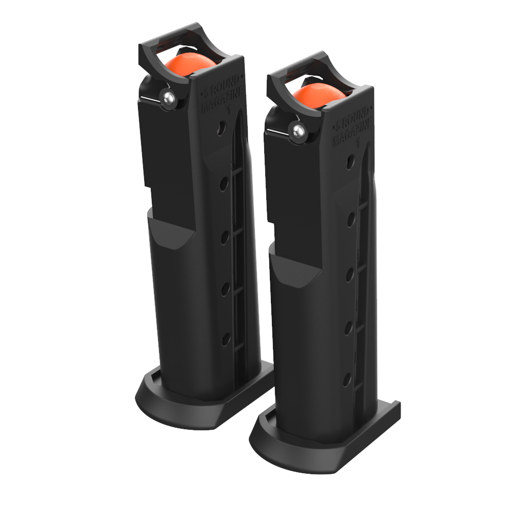 Byrna HD Spare Magazine Clips - Black (Set of 2)