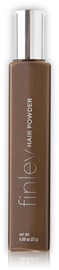 Hair powder brown
