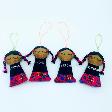 Mini Strong Native doll for Native Hope