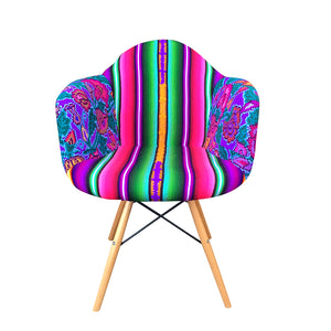 Frida Bucket Chair arcoiris