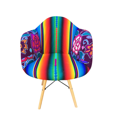 Frida Bucket Chair arcoiris 2