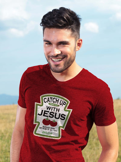 Kerusso® Adult T-Shirt - Catch Up With Jesus