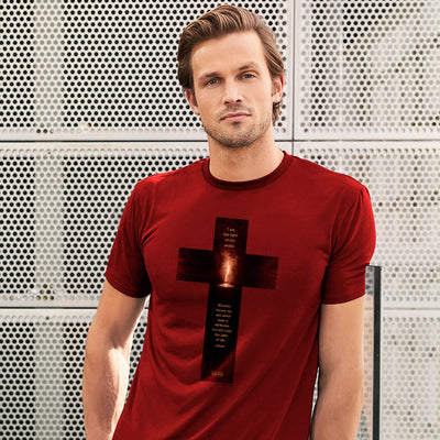 Kerusso Christian T-Shirt Light Cross