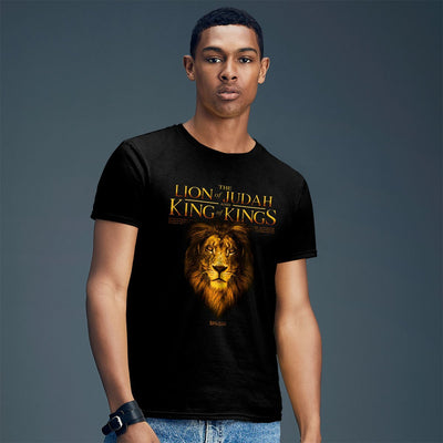 Kerusso Christian T-Shirt King Lion