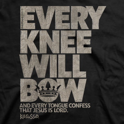 Kerusso Christian T-Shirt Every Knee