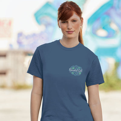 Cherished Girl Womens T-Shirt Trust Script