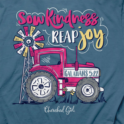 Cherished Girl Womens T-Shirt Tractor