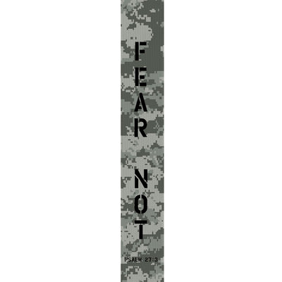 Kerusso Fear Not Digital Camo Guitar Strap