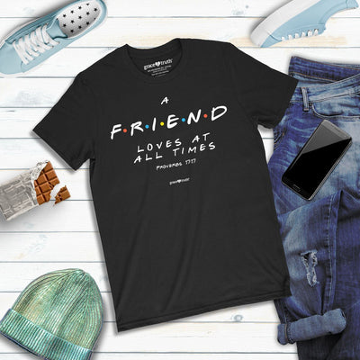 grace & truth Womens T-Shirt Friend