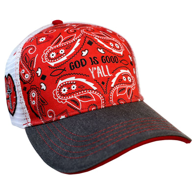 grace & truth Womens Cap Y'all Bandana