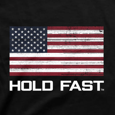 HOLD FAST Mens T-Shirt Hold Fast Flag