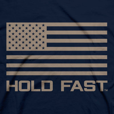 Hold Fast Mens T-Shirt Long May It Wave