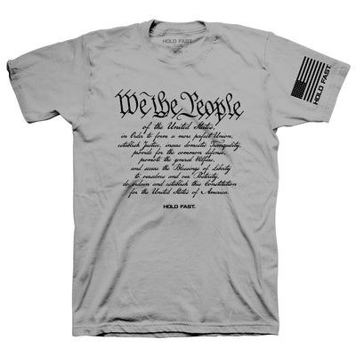 Hold Fast Mens T-Shirt We The People