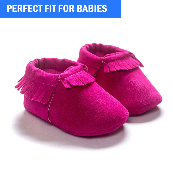 CuteWalk™ First Walker Leather Moccasins Soft Shoes
