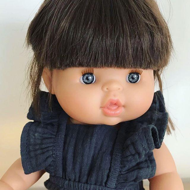 Minikane Chloe DOLL - Brunette - Blue Eyes