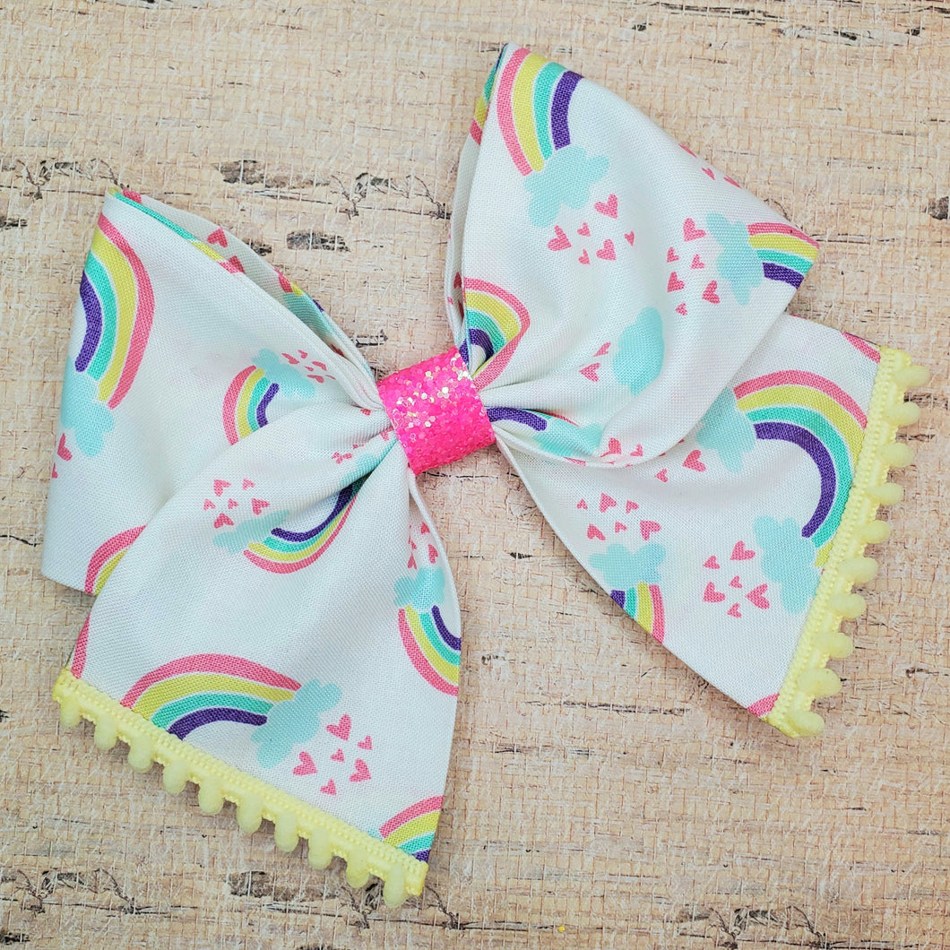 Rainbow Love Bria Bow
