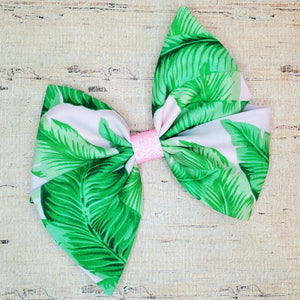 Tropical Leaves Thea Bow (RTS)