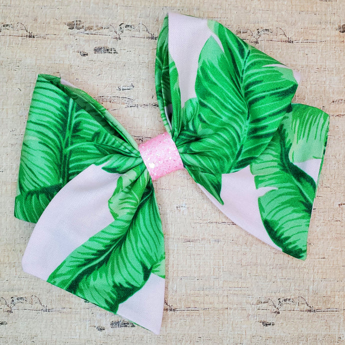 Tropical Leaves Bria Bow (RTS)