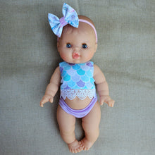 Load image into Gallery viewer, Minikane Baby Girl DOLL - Blue Eyes - White