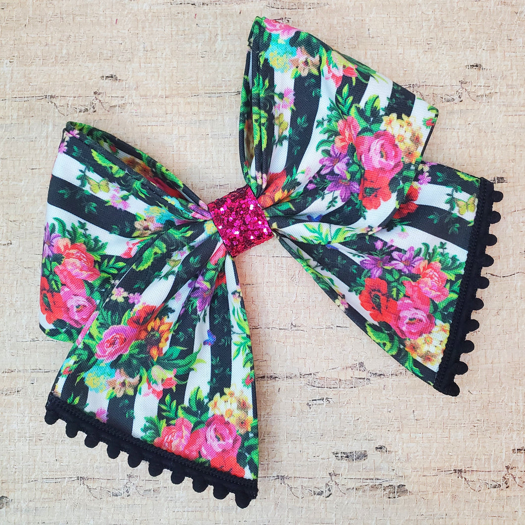 French Bouquet Bria Bow (RTS)