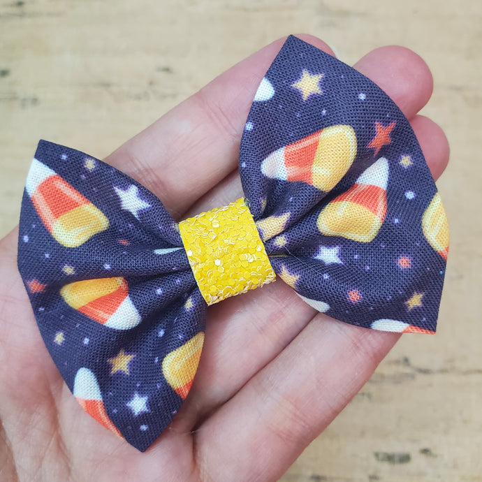 Candy Corn Mini Everly Teeny Bow
