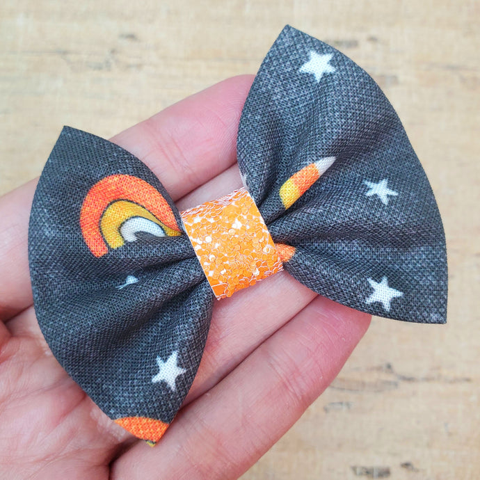 Halloween Rainbow Mini Everly Teeny Bow