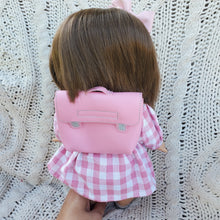 Load image into Gallery viewer, Pink School Girl Set with Backpack