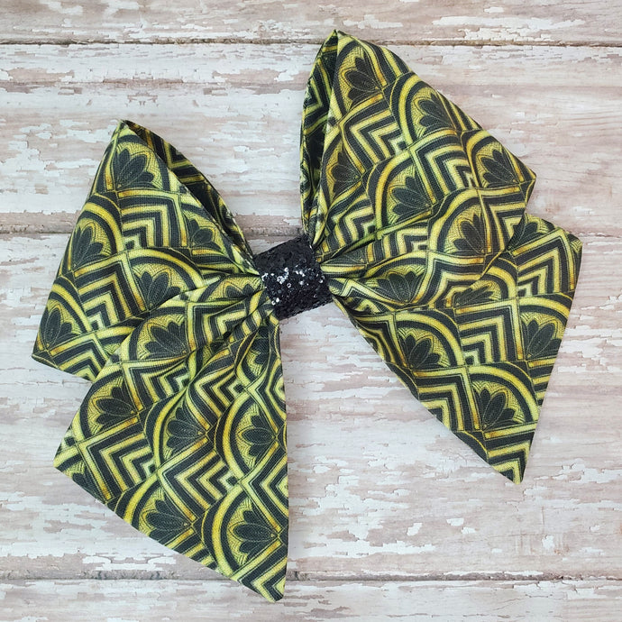Golden Gatsby Bria Bow (RTS)