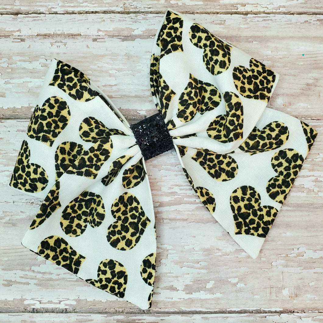 Leopard Love Bria Bow