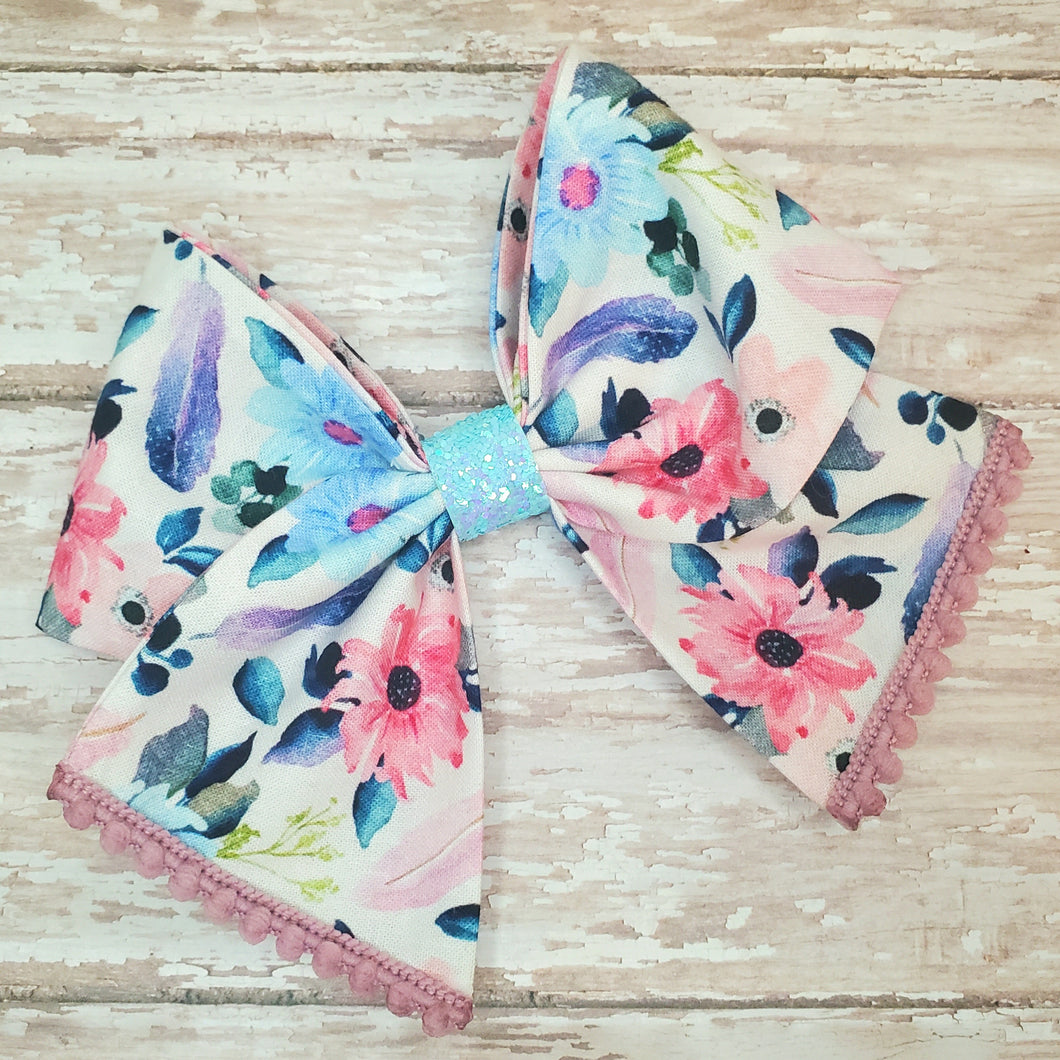 Dream Catcher Floral Bria Bow