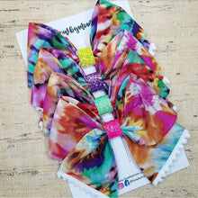Load image into Gallery viewer, Tie Dye Bria Bow