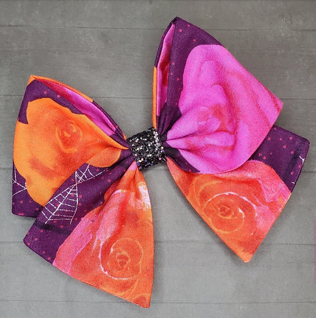 Spooky Floral Bria Bow