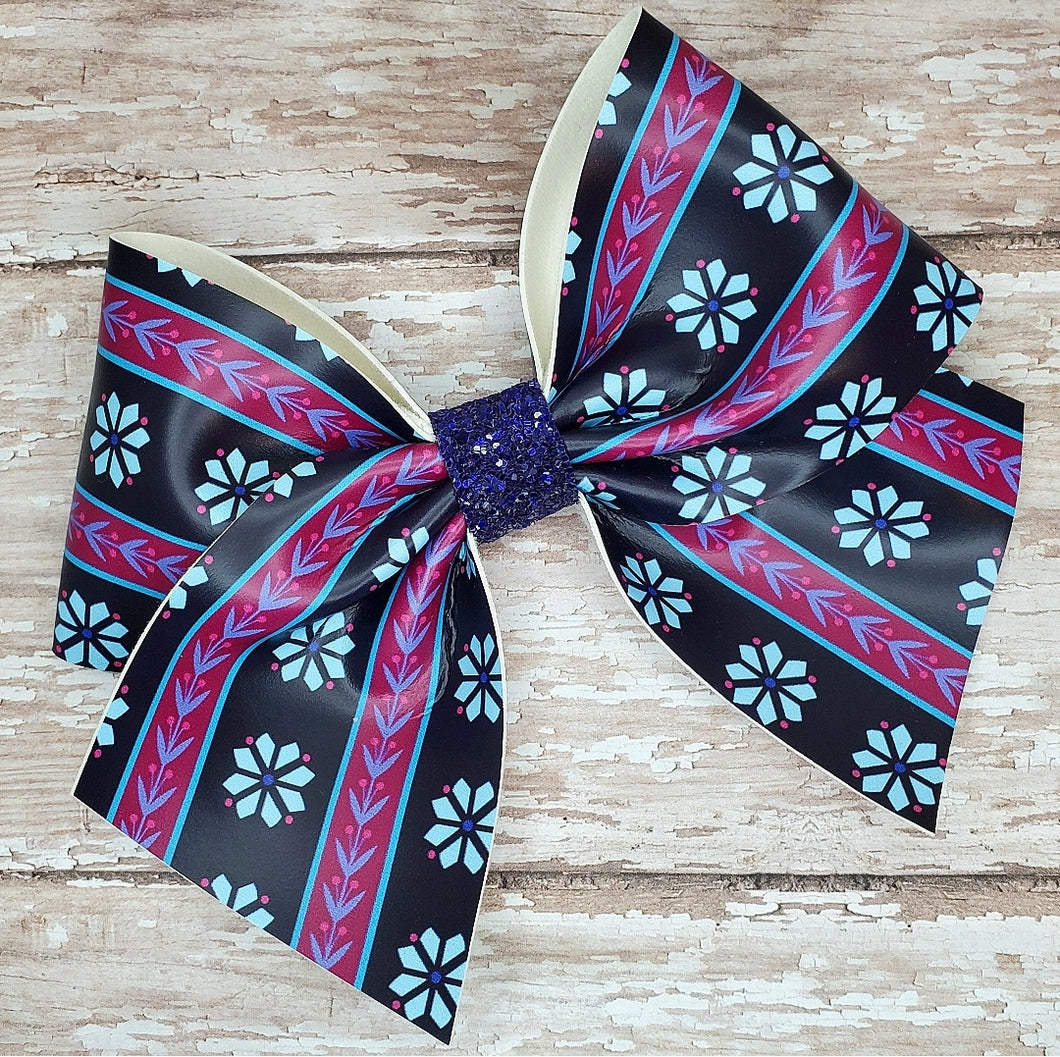 Arendelle Princess Leatherette Bow