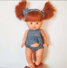 Load image into Gallery viewer, Minikane Gabrielle DOLL - Red Hair, Green Eyes, Freckles