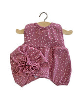 Load image into Gallery viewer, Rose Dot NOA Romper with Ruffle Turban