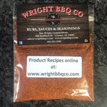 1.5oz Wright Rub All Purpose Sample Bag - Wright BBQ Company