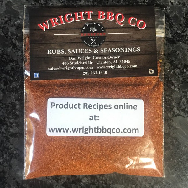 1.5oz Wright Rub Sample Bag - Wright BBQ Company