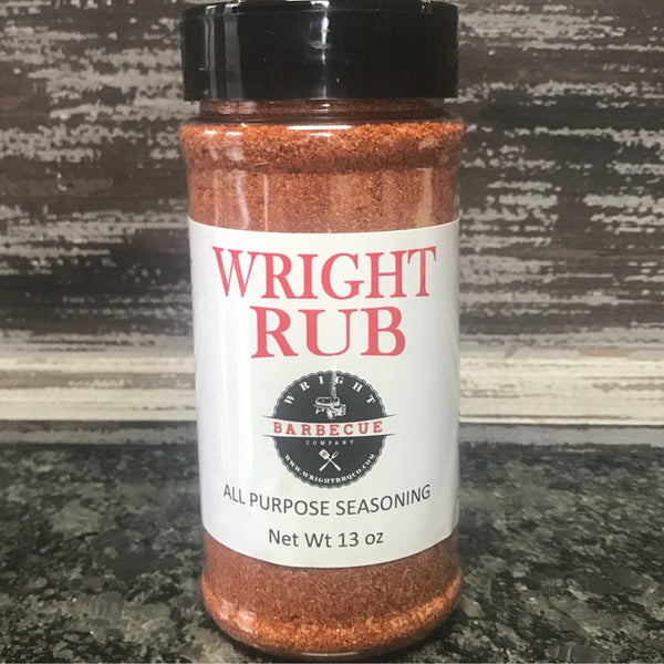11.5oz Wright Rub All Purpose Seasoning - Wright BBQ Company