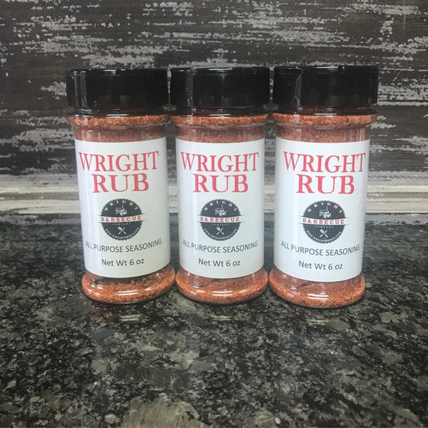 Wright Rub All Purpose 5.5 oz 3 pack - Wright BBQ Company