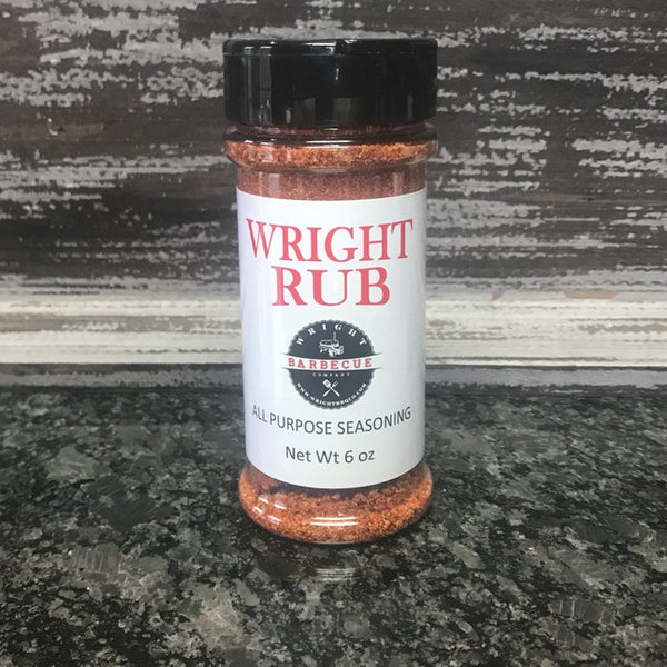 5.5oz Wright Rub All Purpose Seasoning - Wright BBQ Company