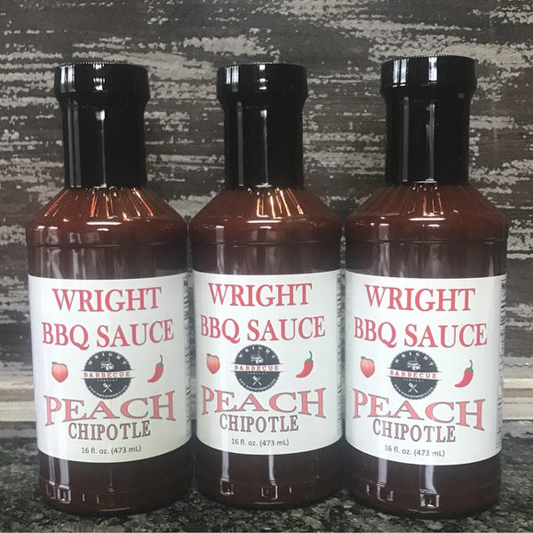 Peach Chipotle BBQ Sauce 3 Pack