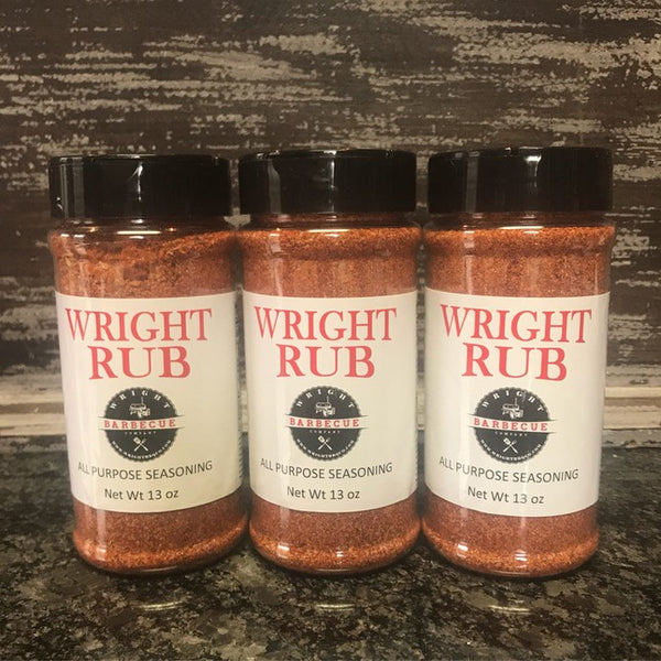 Wright Rub All Purpose 11.5oz 3 Pack - Wright BBQ Company